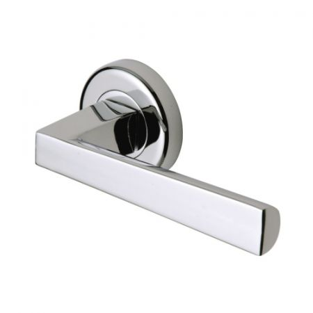 Sorrento Siloh Handle on Rose SC-3392 Polished Chrome