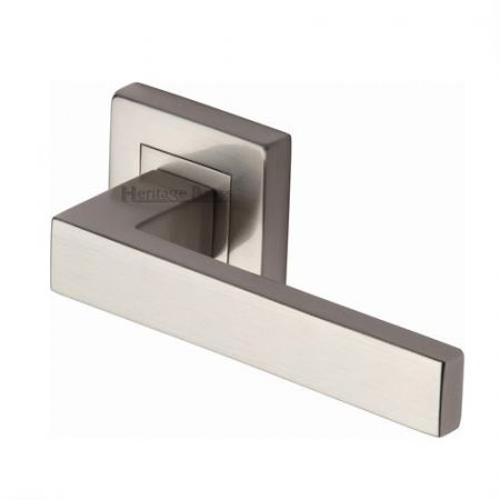Heritage Brass SQ5420 Delta Handle on Square Rose Satin Nickel