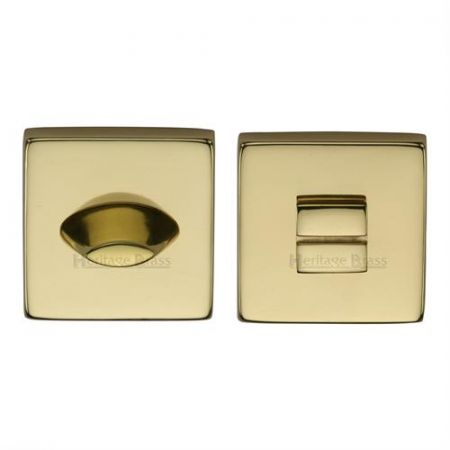 Heritage Brass Square Bathroom Thumbturn and Release SQ4043
