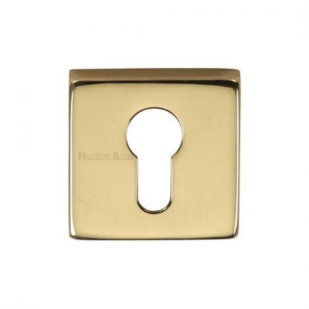 Heritage Brass Square Euro Profile Escutcheon SQ5004