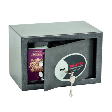Phoenix Vela Home & Office SS0801K Size 1 Security Safe with Key Lock