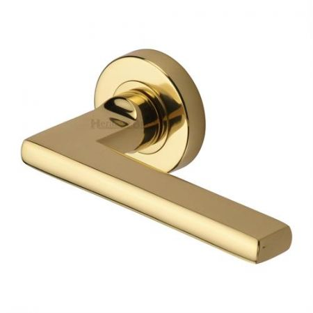 Heritage Brass TRI1352 Trident Handle on Rose Polished Brass