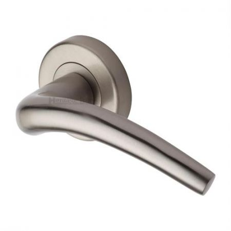 Heritage Brass V1121 Wing Handle on Rose Satin Nickel