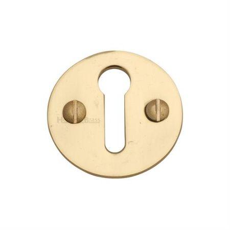 Heritage Brass Round Open Escutcheon V1010