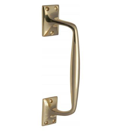 Heritage Brass Pull Handle V1150 Polished Brass