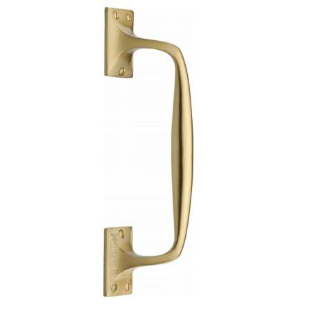 Heritage Brass Pull Handle V1150 Satin Brass