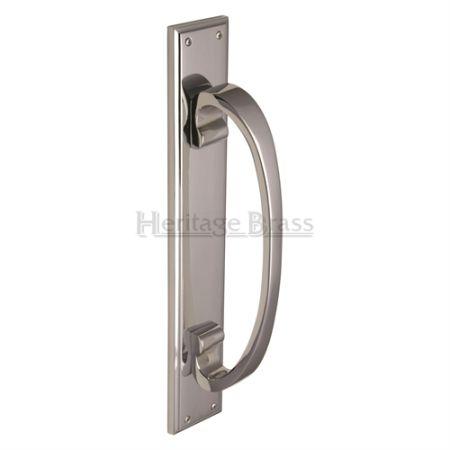 Heritage Brass Pull Handle V1162 Polished Chrome