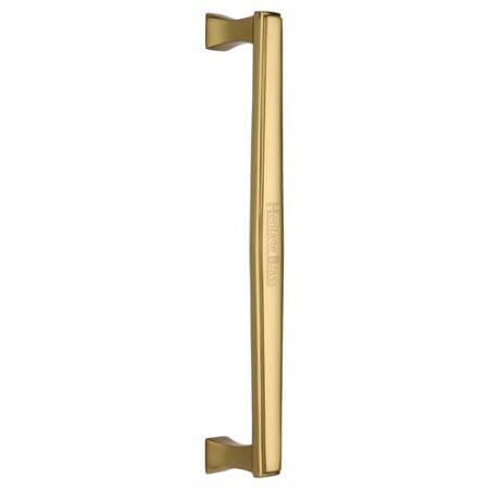 Heritage Brass 305mm Deco Pull Handle V1334 Polished Brass