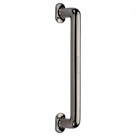 Heritage Brass 330mm Traditional Pull Handle V1376 Polished Nickel