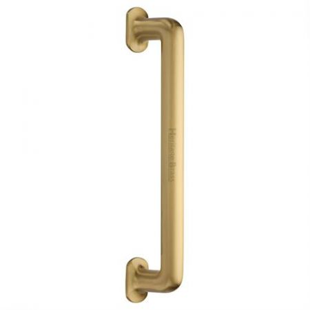 Heritage Brass 330mm Traditional Pull Handle V1376 Satin Brass