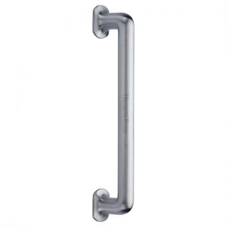 Heritage Brass 330mm Traditional Pull Handle V1376 Satin Chrome