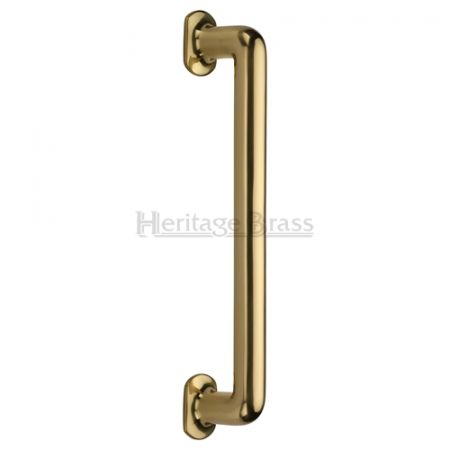 Heritage Brass 482mm Traditional Pull Handle V1376 Polished Brass