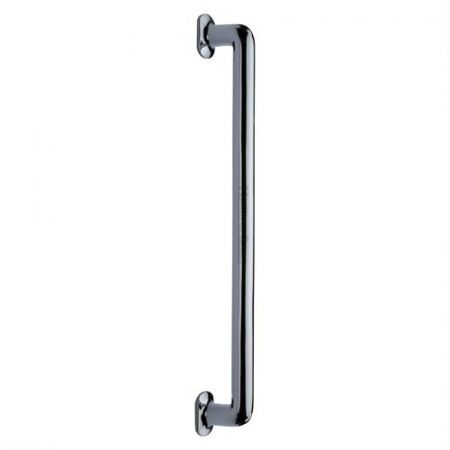 Heritage Brass 482mm Traditional Pull Handle V1376 Polished Chrome