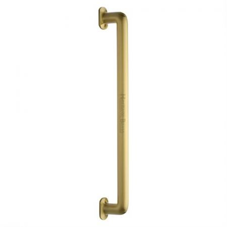 Heritage Brass 482mm Traditional Pull Handle V1376 Satin Brass