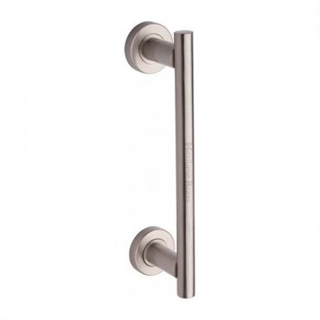 Heritage Brass Pull Handle V2057 Satin Nickel