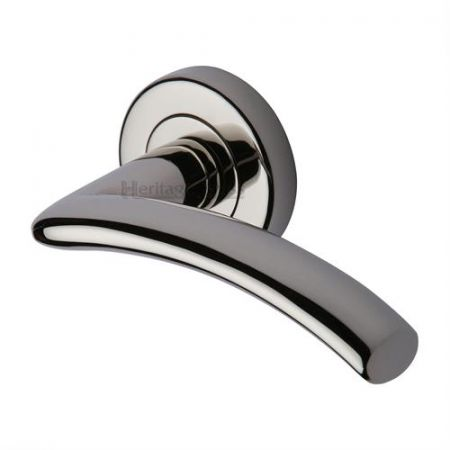 Heritage Brass V3490 Centaur Handle on Rose Polished Nickel