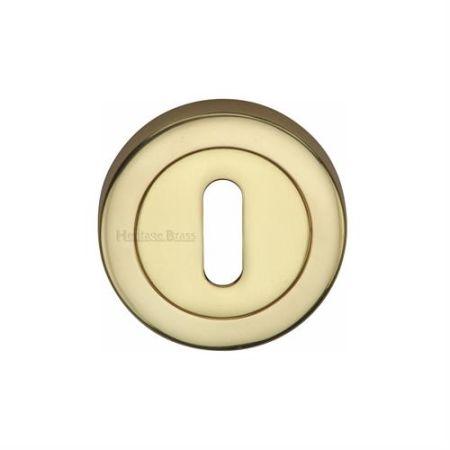 Heritage Brass 53mm Standard Keyhole Escutcheon V4000