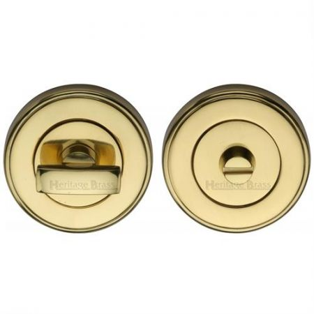 Heritage Brass Round Bathroom Turn & Release - V4040
