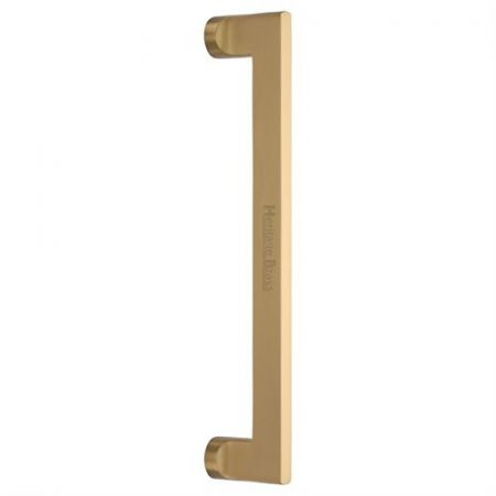 Heritage Brass 305mm Apollo Pull Handle V4150 Satin Brass