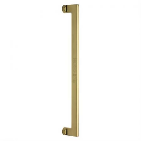 Heritage Brass 457mm Apollo Pull Handle V4150 Polished Brass