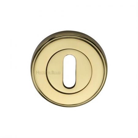 Heritage Brass Standard Key Escutcheon Round - V5000