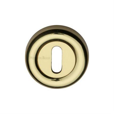 Heritage Brass 53mm Standard Keyhole Escutcheon V6722