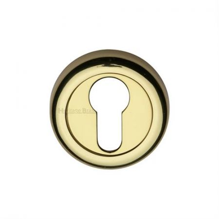Heritage Brass 53mm Euro Profile Escutcheon V6724