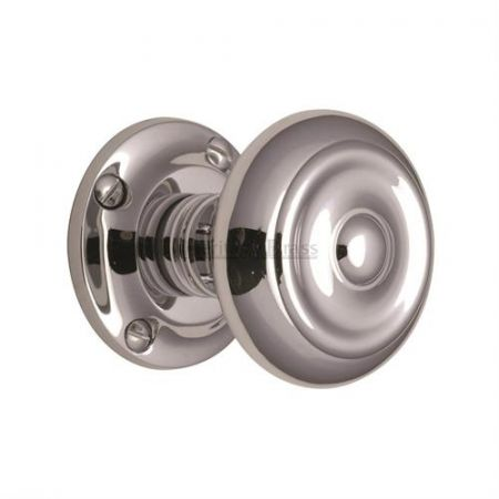 Heritage Brass Aylesbury Mortice Knob V872 Polished Chrome