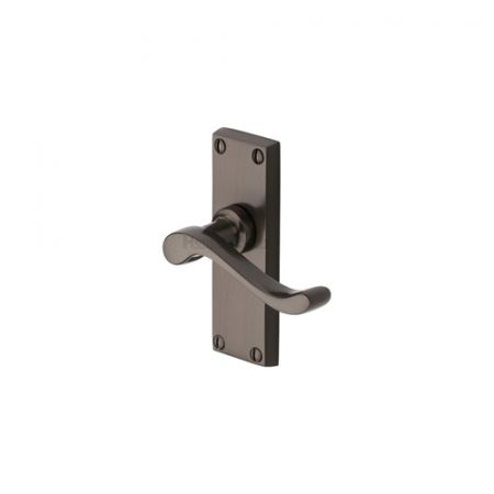 Heritage Brass Bedford Handle on Short Backplate Matt Bronze