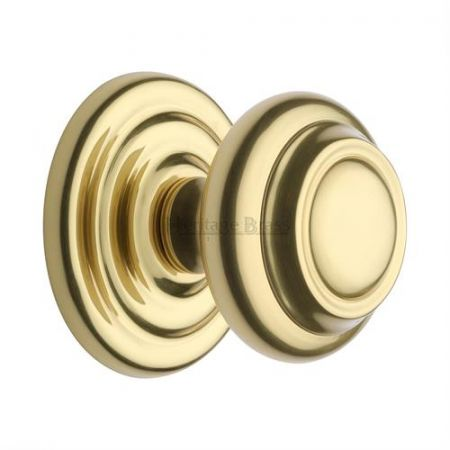 Heritage Brass Centre Door Knob V905