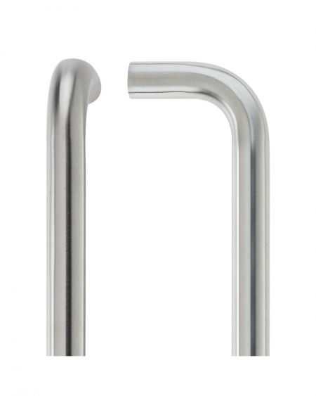 Vier D Type Pull Handle 425mm Centres 19mm Tube Diameter