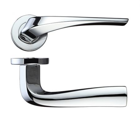 Rosso Maniglie Aries Lever RM060 Polished Chrome