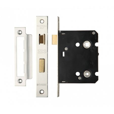 Zoo 76mm Contract Bathroom Lock ZBC76