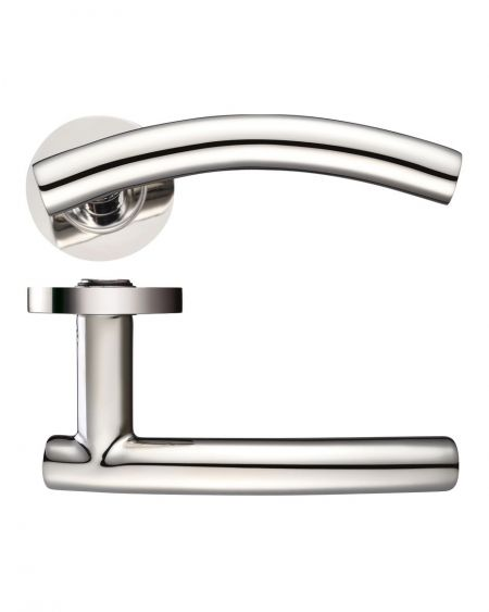 Zoo ZCS120 Stainless Steel Arched T Bar Lever Polished Finish