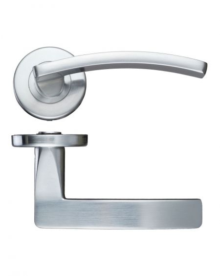 Zoo ZCZ030 Toledo Handle on Rose Satin Chrome