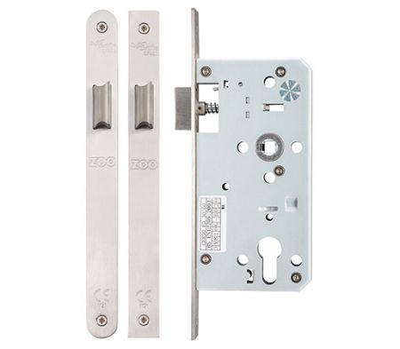 Zoo DIN Latch 55mm Backset
