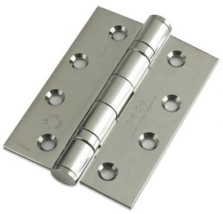 ZHSS243 100 x 75mm Grade 13 Stainless Steel Ball Bearing Hinge