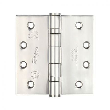 ZHSS244 102 x 102mm Grade 13 Satin Stainless Steel Ballbearing Hinge