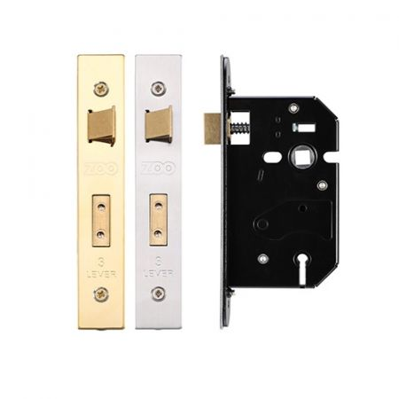 Zoo 3 Lever Replacement Sash Lock 64mm ZURS364