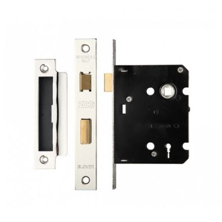 Zoo 76mm 3 Lever Contract Sash Lock ZSC376