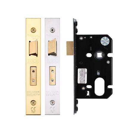 Zoo Oval Profile Sash Lock 64mm Case ZUKS64OP
