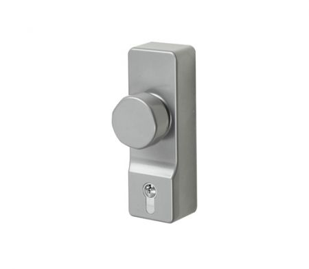 Exidor Outside Access Device with Knob inc. Euro Cylinder ZPH302EC