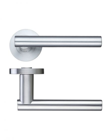 Zoo ZPZ090 Lucca Handle on Rose Satin Chrome